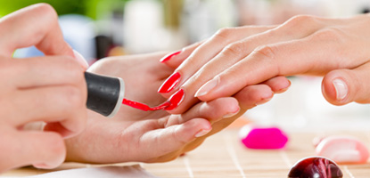 Nail Services at American Beauty College