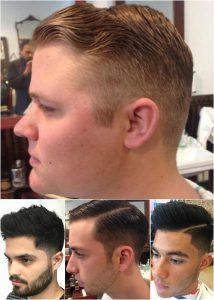 Men's tapered hair cucts