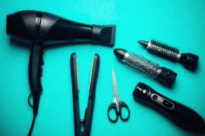 cosmetologist's tools