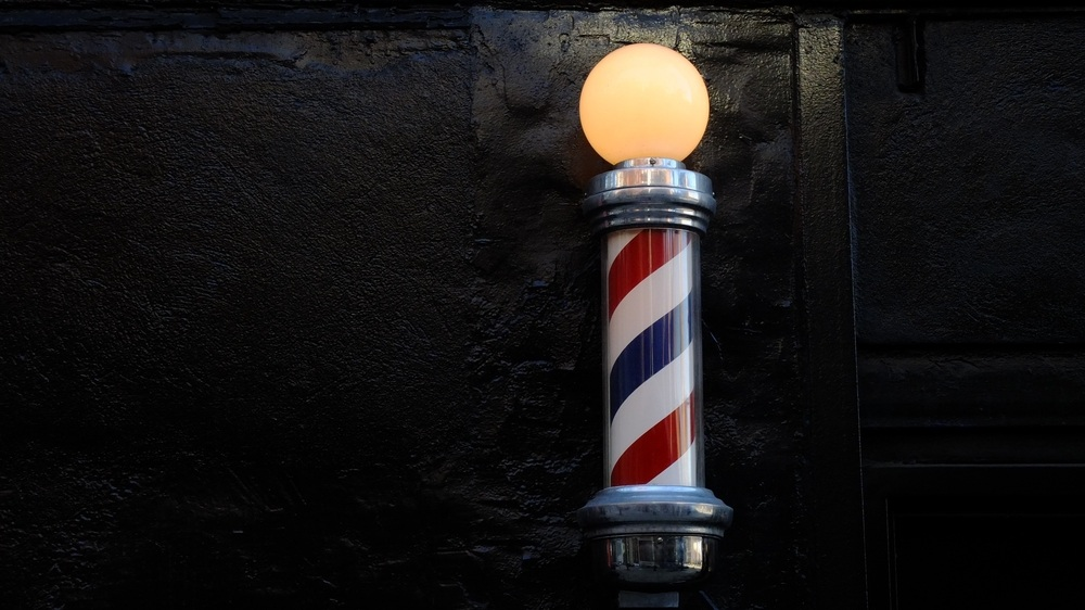 barber pole light